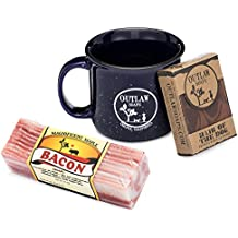 Outlaw's Breakfast Gift Set: Bacon Soap, Whiskey Soap, and a Mug (perfect for the cowboy or cowgirl in your life)