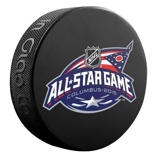 2015 NHL All-Star Game Souvenir Game Puck - Columbus
