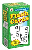 Multiplication 0-12 Flash Cards, Ages 8 - 10