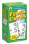 Multiplication 0-12 Flash Cards, Ages...