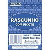 Bloco Para Rascunho C/Picote E Grampo 100 Folhas 115x160 São Domingos, Multicor, pacote de 20