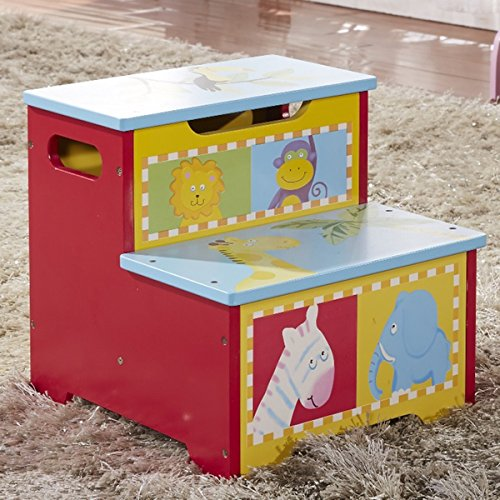 Children's Storage Step Stool by Generic