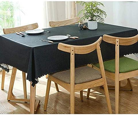 ZHBU Mantel PVC de Jardín, Mantel de Vinilo para Mesa Rectangular RectÁNgulo Mantel de PVC a Prueba de Aceite/Resistente a Las Manchas/Cocina a Prueba de Moho para Uso en Exteriores o Interiores: