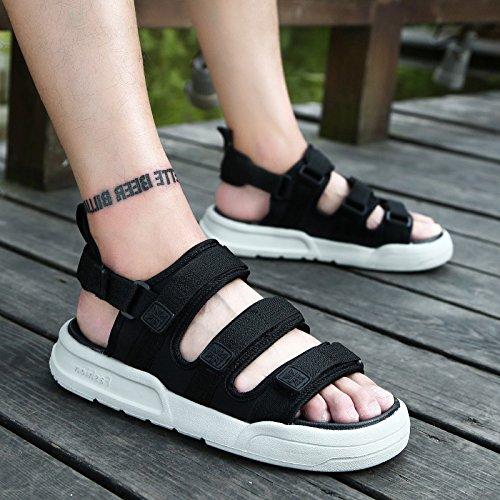 Negra Zapatos Moda y 1 Sandalias 903 y Playa Antideslizante Frescas Son fankou Marea Ocio en Que 39 Verano Zapatillas Verano de qt4Tp