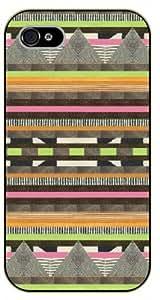 iPhone 5 / 5s Aztec Pattern - black plastic case / Art, hipster, tribal