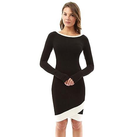6747a57b2 Vestido de mujer Sexy Señoras Fuera del hombro Fruncido Trabajo Fiesta  Noche Formal Boda Dama de ...