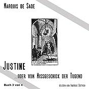 Das Leiden der Justine 3   Marquis de Sade