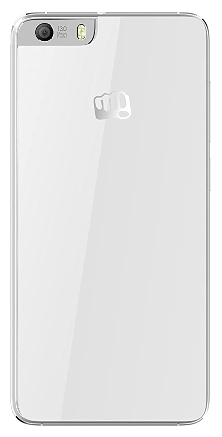 quality design b24cb 517af Red Qube Battery Back Panel Replacement Cover For Micromax Canvas Knight 2  E471 (White)