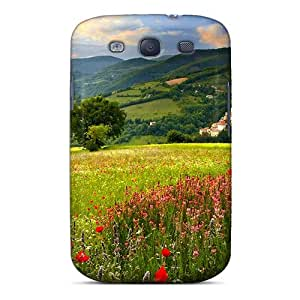 High Impact Dirt/shock Proof Case Cover For Galaxy S3 (refreshing Scenery)