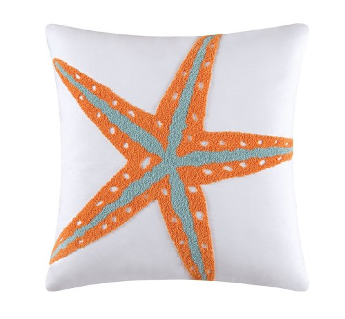 C & F Enterprises Fiesta Key Starfish Square Pillow