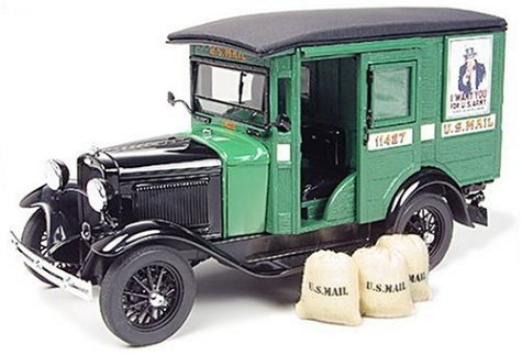 Danbury Mint 063-40 - U.S.Mail Truck (Diecast Model) by - Danbury Us