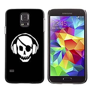 GagaDesign Phone Accessories: Hard Case Cover for Samsung Galaxy S5 - Skull Pirate Beat