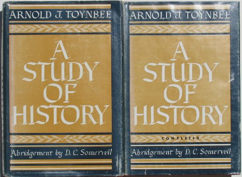 A STUDY OF HISTORY. in TWO VOLUMES (Complete 2 Volume Set)