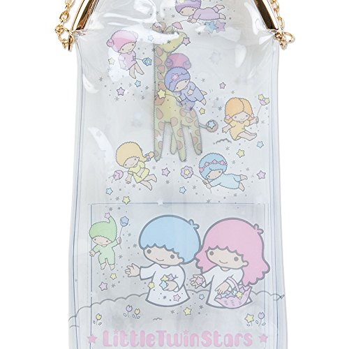 Sanrio Little Twin Stars vinyl purse pouch containing mini Stationery Sets From Japan New