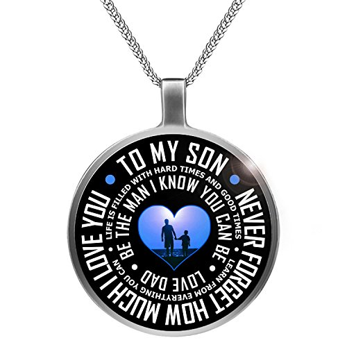 Father Necklace Never Forget Much