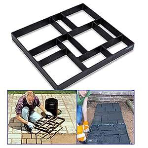 Pathmate - Molde para hacer caminos de piedra, para hormigón, para pavimento