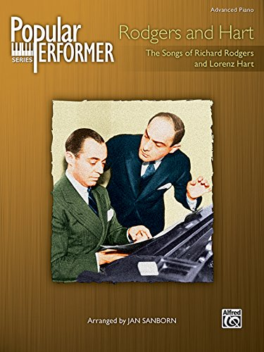 Rodgers Bewitched Hart - Popular Performer -- Rodgers and Hart: The Songs of Richard Rodgers and Lorenz Hart (Popular Performer Series)