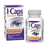 Alcon ICaps Multivitamin Eye Vitamin & Mineral Support, Coated Tablets SizeLimit 5Pack (100 tablets Each) Jks#HDW