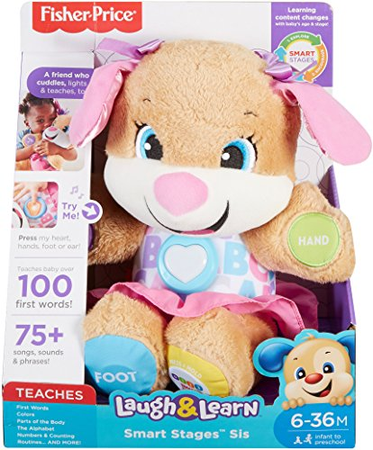 51QZK 9rwAL - Fisher-Price Laugh & Learn Smart Stages Sis
