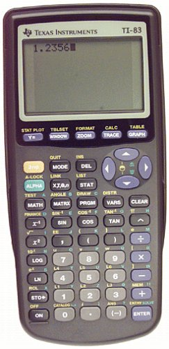 Texas Instruments TI-83 Graphing Calculator by Texas Instruments