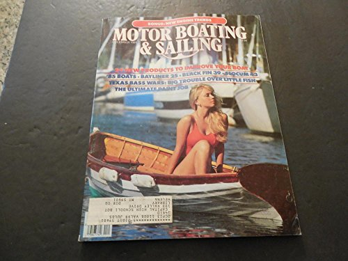 Motor Boating and Sailing Dec 1984, Texas Bass Wars, Ultimate Paint Jobs