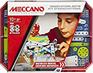 Meccano, Motorized Movers S.T.E.A.M. Building Kit with Animatronics, for Ages 10 and Up