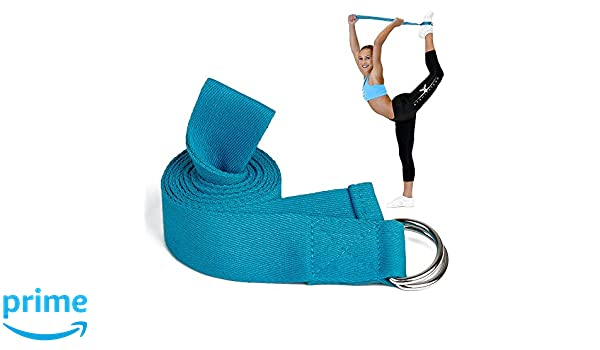 Amazon.com : AdongTop Yoga Stretching Strap-Loops ...