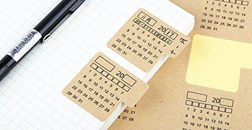 NF Orange 2018-2019 Calendars Stickers for Bullet