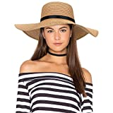 Sun Hats UV Protection Wide Brim Summer Hat UPF 50+, Foldable Floppy Travel Packable Beach Hats