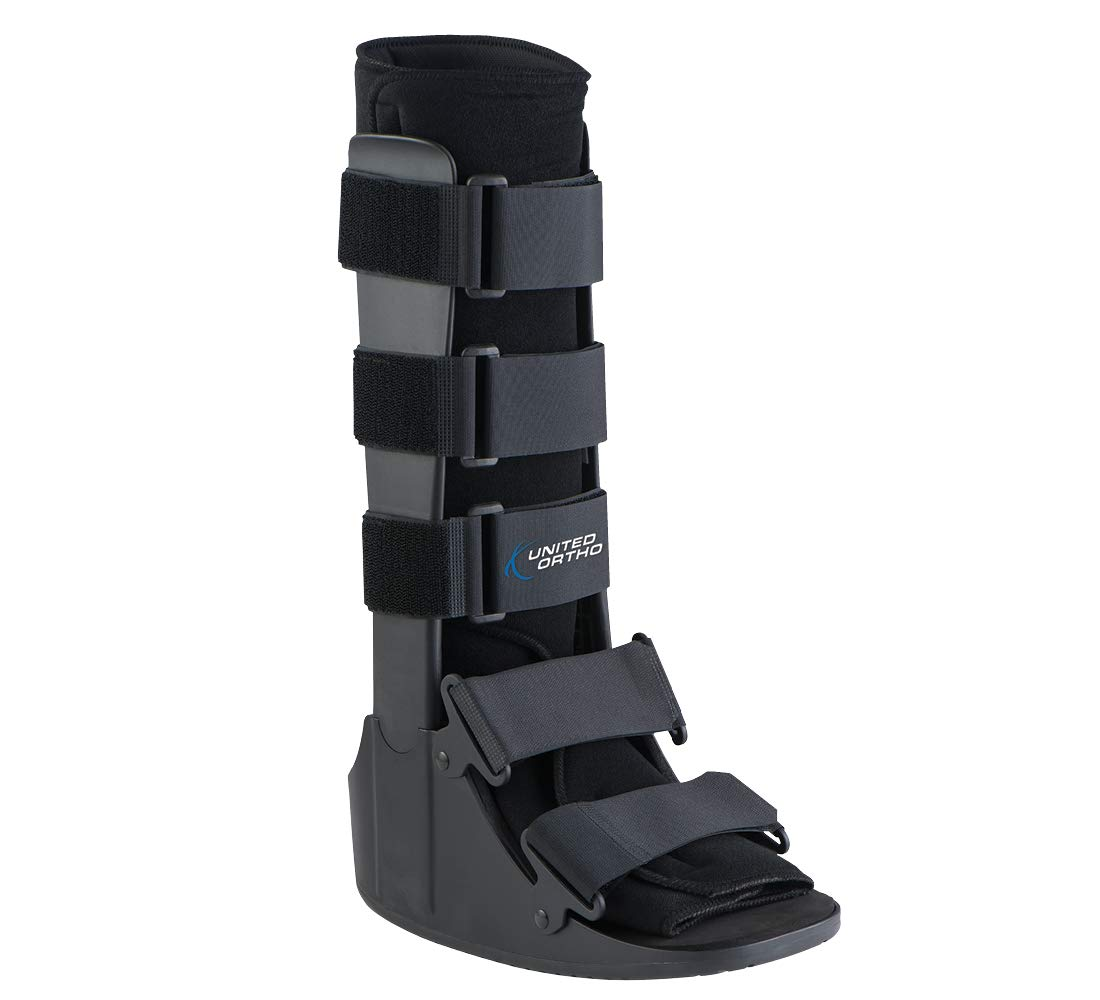 United Ortho Cam Walker Fracture Boot, Large, Black by United Ortho