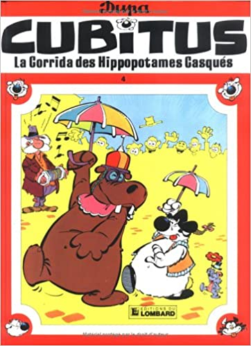 Livres gratuits Cubitus, tome 4 : La corrida des hippopotames casqués pdf, epub