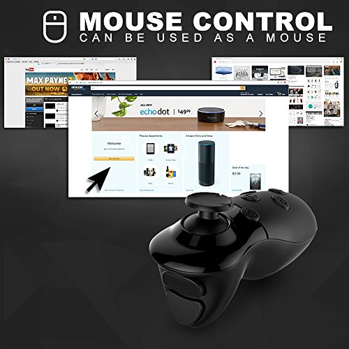 VR Controller, iDudu Wireless Bluetooth Remote Controller - Import