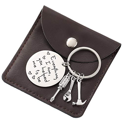Used, Keychain Dad Gifts for Men - Father's Day Gifts Keychain for sale  Delivered anywhere in USA