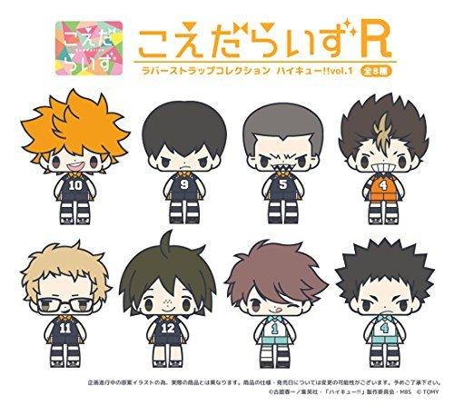 Twigs rise rubber strap Haikyu !! Vol.1 BOX by Japan Import (Image #1)