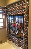 Case IH Tractor Shower Curtain