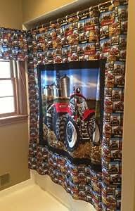 Amazon Com Case Ih Tractor Shower Curtain Home Amp Kitchen