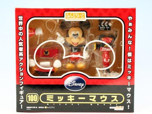 ねんどろいど ミッキーマウス ディズニー DISNEY カメラ アイテム フィギュア グッドスマイルカンパニー