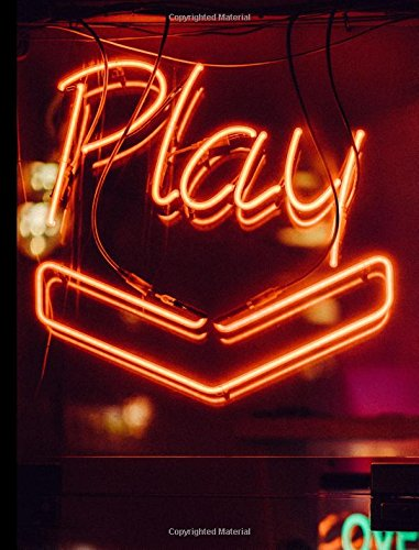 Play Neon Nightclub Composition Book: College ruled line paper Back to School Composition Notebook 200 pages 7.44x9.69 pdf epub