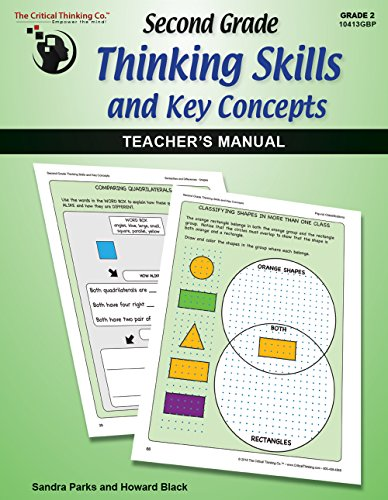 Second Grade Thinking Skills & Key Concepts: Teacher's Manual - Teaches Beyond Most State & Common Core Standards (Grade 2)