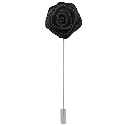 Amazon pinmarts silk flower stick boutonniere lapel pins pinmarts silk flower stick boutonniere lapel pins select your color mightylinksfo