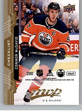 2018-19 UD MVP Puzzle Back  200 Connor McDavid Edmonton Oilers Upper Deck 18 f5d10a42f