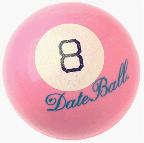 Valentines' Day PINK Magic 8 Ball Love Date Ball - The Game of Questions by Mattel (Image #2)