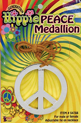 Forum Novelties Hippie Peace Medallion