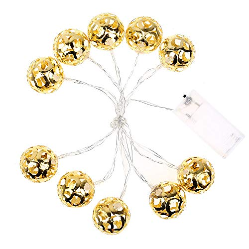 ️ Yu2d ❤️❤️ ️Christmas String Lights Wedding Xmas Party Decor Outdoor Indoor Lamp 1.5m/10 -