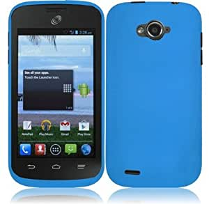 For ZTE Savvy Z750C Cover Case (Hard Cool Blue)