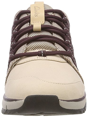 Pink Sneakers Clarks Tri Trail Femme Combi Beige nude Basses 006fPwEx