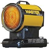 Master MH-70-SS-A Radiant Kerosene Heater, 70,000 BTU