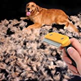 Description: Professional Pet Shedding Grooming Tool Brush Comb Rakes Size L Quickly and easily removes undercoat and loose hair. Guaranteed to reduce shedding better than any brush, comb or rake. Leaves a shiny and healthy topcoat; comfortab...