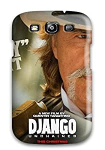 First Class Case Cover For Galaxy S3 Dual Protection Cover Django Unchained ()