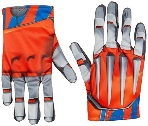Transformer Prime Optimus Costumes (Disguise Hasbro Transformers Age of Extinction Movie Optimus Prime Child Gloves, One Size)